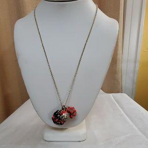 Ann Taylor Cabochon Pendant Necklace #606